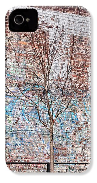 High Line Palimpsest IPhone 4 Case by Rona Black