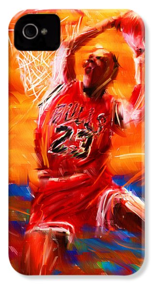 His Airness IPhone 4 Case by Lourry Legarde