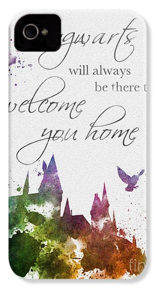 Hogwarts Will Welcome You Home IPhone 4 Case