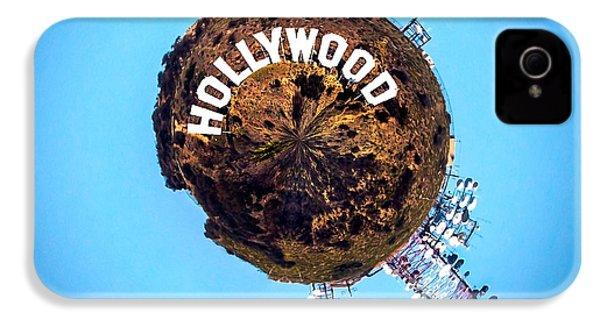 Hollywood Sign Circagraph IPhone 4 Case by Az Jackson