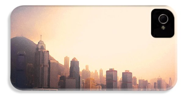 Hong Kong Harbour Sunset IPhone 4 / 4s Case by Pixel  Chimp