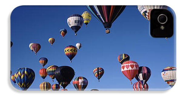 Hot Air Balloons Floating In Sky IPhone 4 Case by Panoramic Images