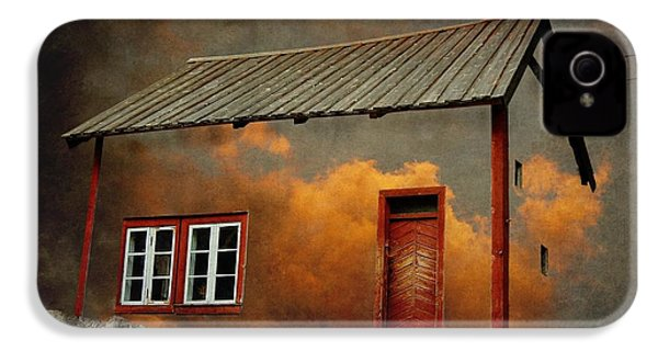 House In The Clouds IPhone 4 Case by Sonya Kanelstrand