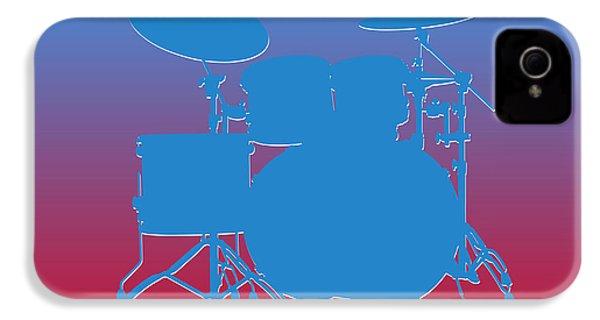 Houston Oilers Drum Set IPhone 4 Case by Joe Hamilton
