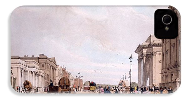 Hyde Park Corner, Looking IPhone 4 Case by Thomas Shotter Boys