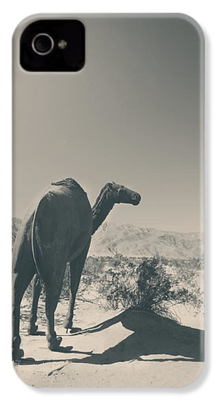 In The Hot Desert Sun IPhone 4 Case by Laurie Search