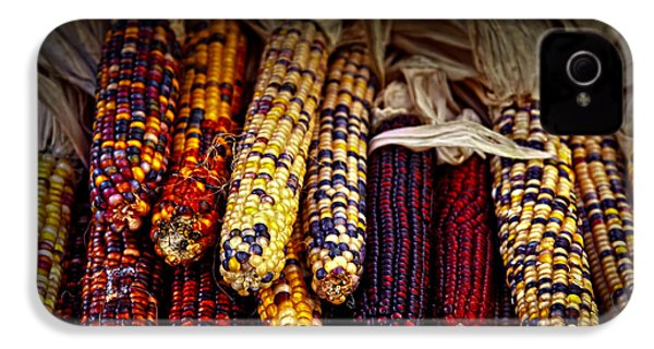 Indian Corn IPhone 4 / 4s Case by Elena Elisseeva