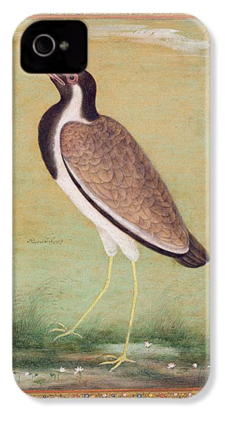 Indian Lapwing IPhone 4 Case by Mansur