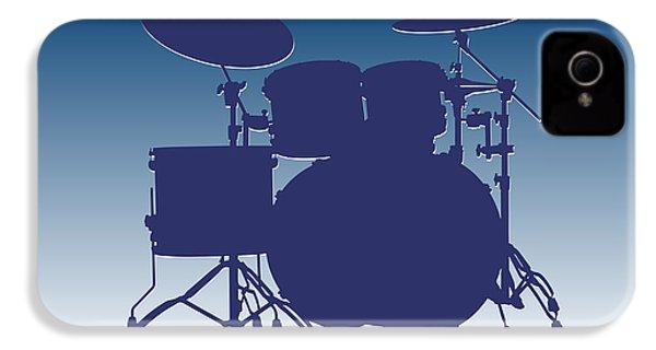 Indianapolis Colts Drum Set IPhone 4 Case by Joe Hamilton
