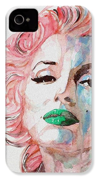 Insecure  Flawed  But Beautiful IPhone 4 Case by Paul Lovering