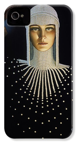 Intrique IPhone 4 Case by Jane Whiting Chrzanoska