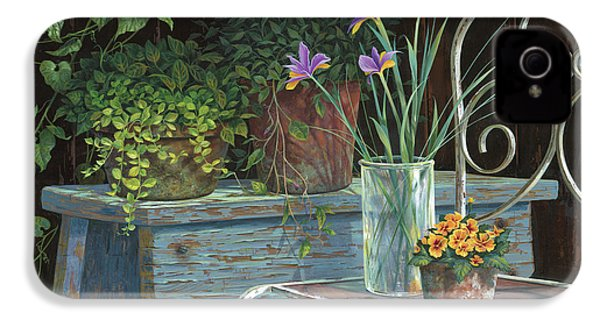 Irises IPhone 4 Case by Michael Humphries