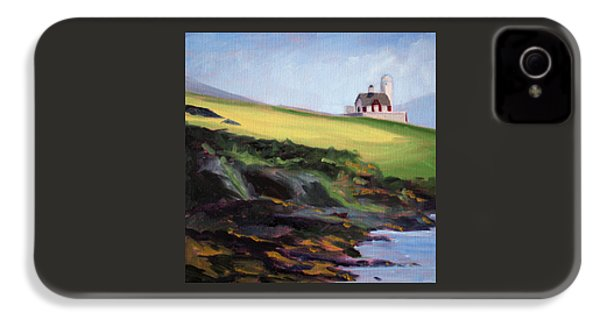 Irish Lighthouse IPhone 4 Case by Nancy Merkle