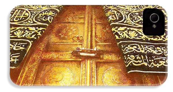 Islamic Painting 008 IPhone 4 Case by Catf