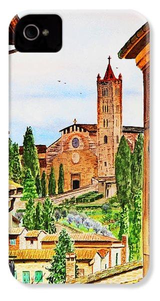 Italy Siena IPhone 4 Case