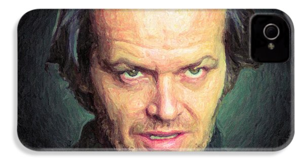 Jack Torrance IPhone 4 Case by Taylan Apukovska