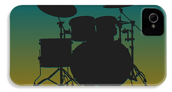 Jacksonville Jaguars Drum Set IPhone 4 Case by Joe Hamilton