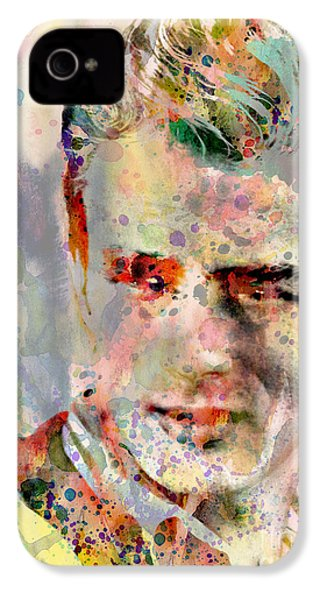 James Dean IPhone 4 Case by Mark Ashkenazi