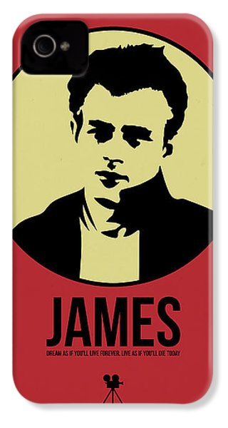 James Poster 2 IPhone 4 Case by Naxart Studio