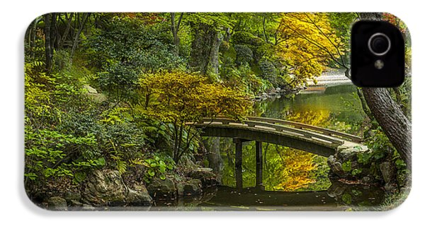 IPhone 4 Case featuring the photograph Japanese Garden by Sebastian Musial