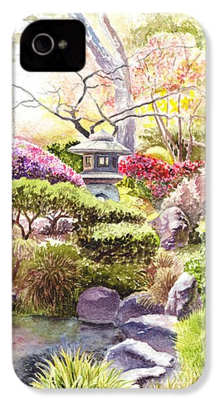 San Francisco Golden Gate Park Japanese Tea Garden  IPhone 4 Case