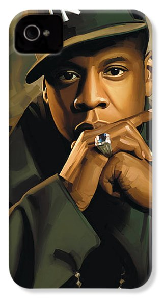 Jay-z Artwork 2 IPhone 4 Case by Sheraz A