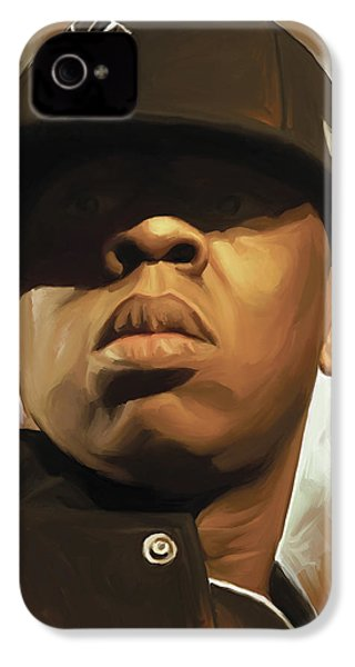 Jay-z Artwork IPhone 4 Case by Sheraz A