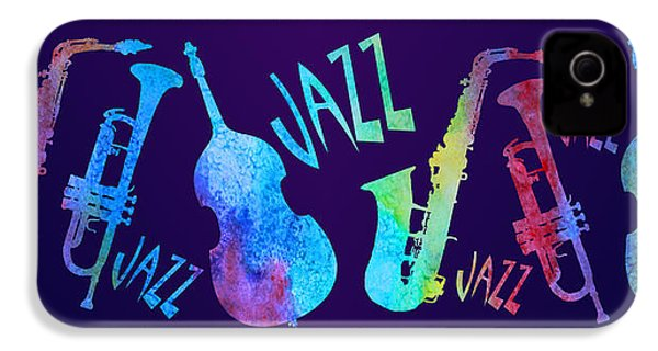 Jazzy Combo IPhone 4 / 4s Case by Jenny Armitage