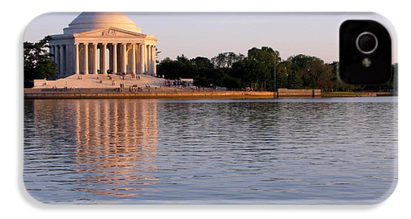 Jefferson Memorial IPhone 4 Case by Olivier Le Queinec
