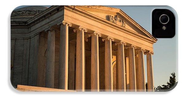 Jefferson Memorial Sunset IPhone 4 / 4s Case by Steve Gadomski