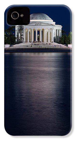 Jefferson Memorial Washington D C IPhone 4 Case by Steve Gadomski
