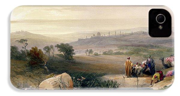 Jerusalem, April 1839 IPhone 4 Case by David Roberts