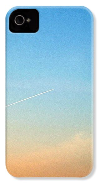 IPhone 4 Case featuring the photograph Jet To Sky by Marc Philippe Joly