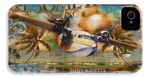 Jimmy Buffett's Hemisphere Dancer IPhone 4 / 4s Case by Desiderata Gallery