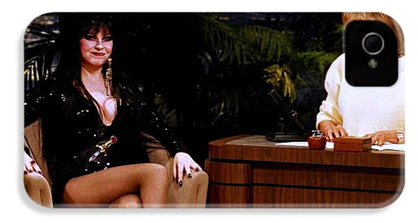 Joan Rivers And Elvira IPhone 4 / 4s Case by Brian Benjamin