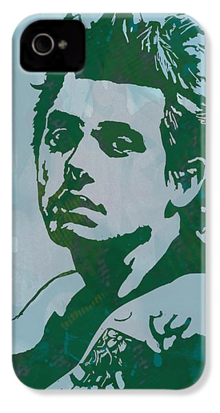 John Mayer - Pop Stylised Art Sketch Poster IPhone 4 Case by Kim Wang