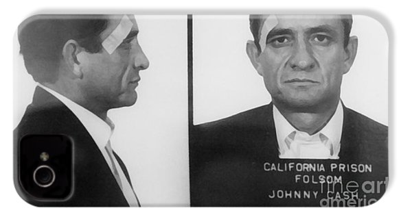 Johnny Cash Folsom Prison Large Canvas Art, Canvas Print, Large Art, Large Wall Decor, Home Decor IPhone 4 Case
