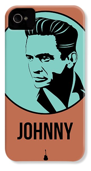 Johnny Poster 1 IPhone 4 / 4s Case by Naxart Studio