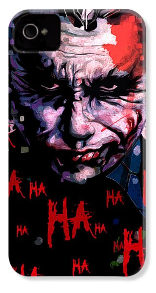 Joker IPhone 4 Case by Jeremy Scott