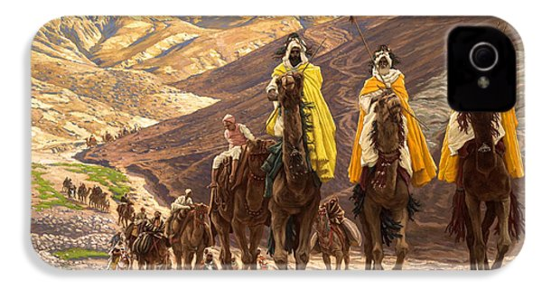 Journey Of The Magi IPhone 4 Case by Tissot