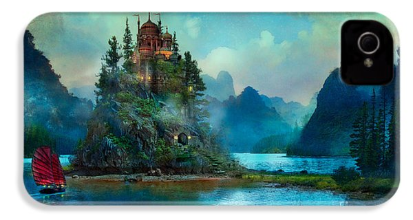 IPhone 4 Case featuring the digital art Journeys End by Aimee Stewart
