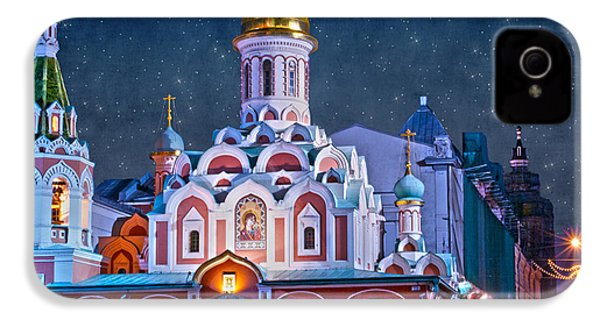 Kazan Cathedral. Red Square. Moscow Russia IPhone 4 Case by Juli Scalzi