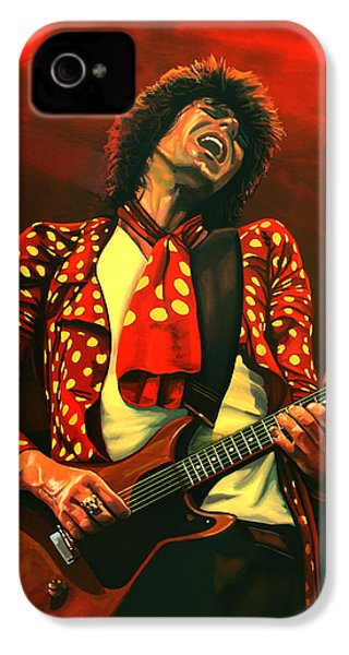 Keith Richards Painting IPhone 4 Case