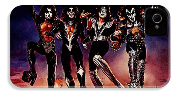 Kiss - Destroyer IPhone 4 Case by Epic Rights