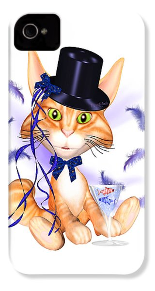 Kitticat Party Design IPhone 4 Case