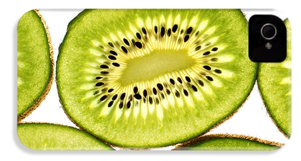 Kiwi Fruit IIi IPhone 4 Case by Paul Ge