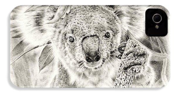 Koala Garage Girl IPhone 4 / 4s Case by Remrov