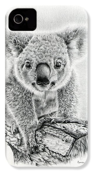 Koala Oxley Twinkles IPhone 4 Case by Remrov