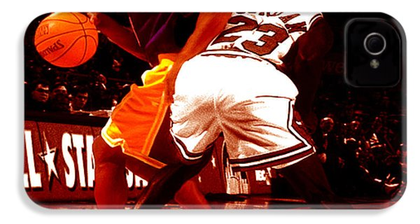 Kobe Spin Move IPhone 4 Case by Brian Reaves