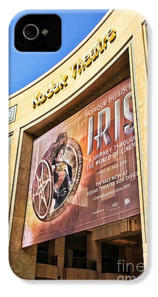 Kodak Theatre IPhone 4 / 4s Case by Mariola Bitner
